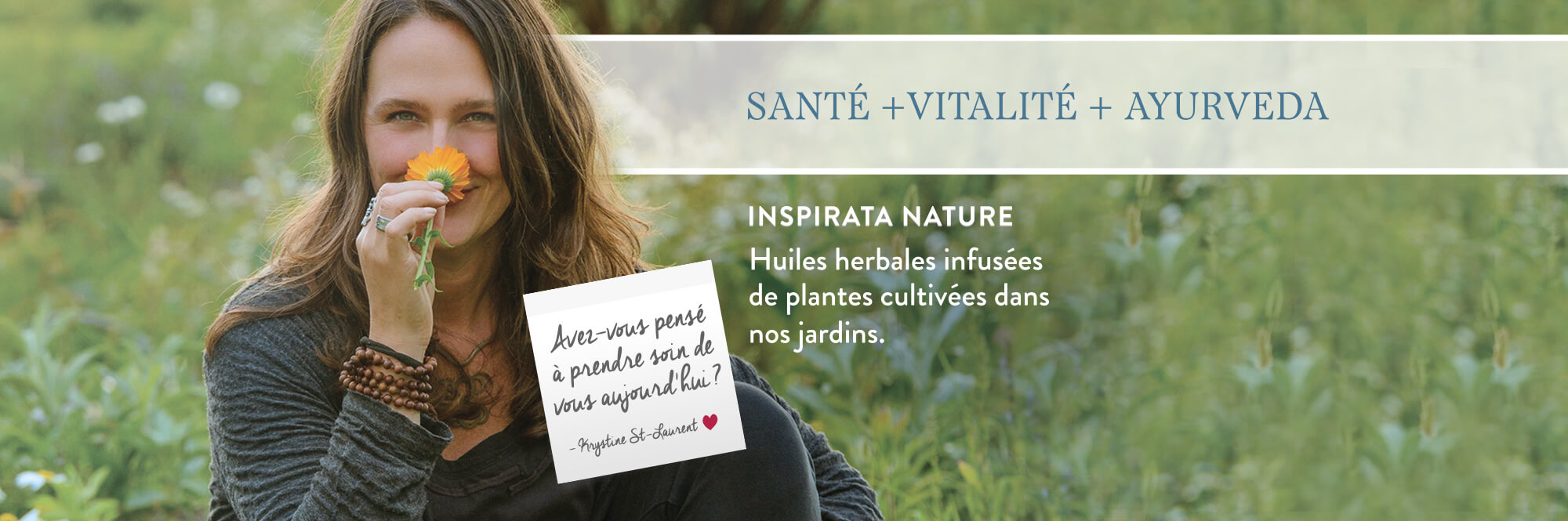 Inspirata Nature - Krystine St-Laurent