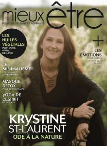 Magazine mieux-être - Krystine St-Laurent