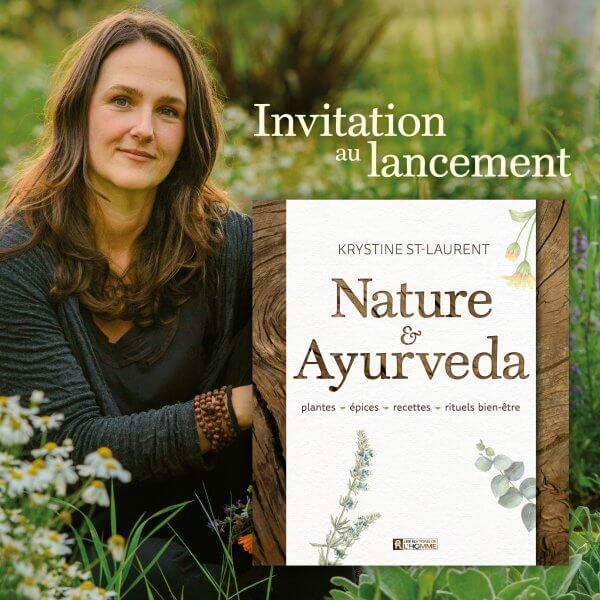 Livre Nature & Ayurveda - Krytine St-Laurent