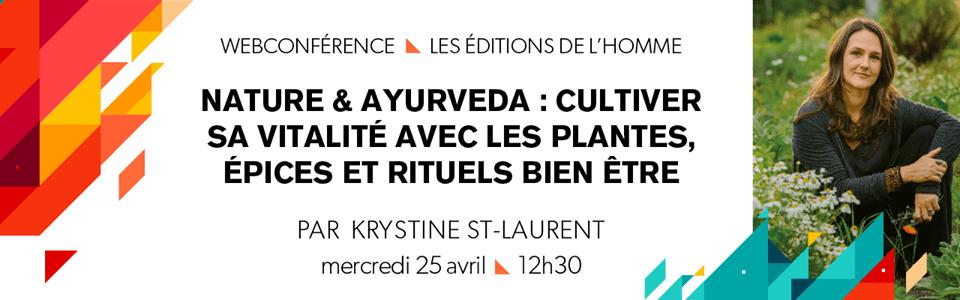 Webconférence : Nature & Ayurveda