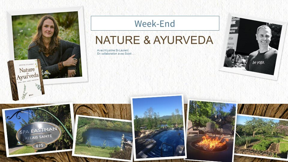 Weekend Nature et Ayurveda - Krystine St-Laurent