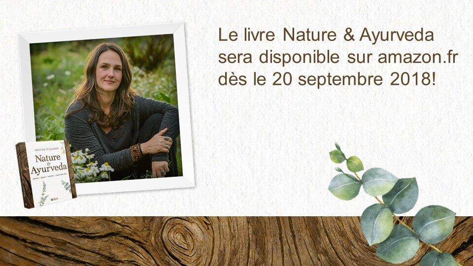 Livre Nature & Ayurveda - Disponible en France