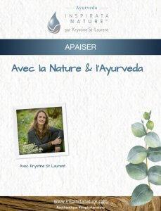 ebook apaiser avec la nature et l'ayurveda
