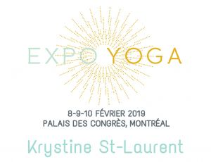 Krystine-St-Laurent Expo Yoga