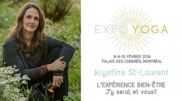 Krystine-St-Laurent Expo Yoga