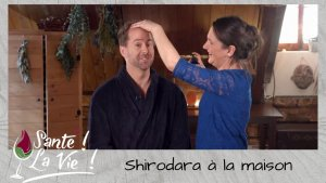 Santé La vie - Shirodara à la maison