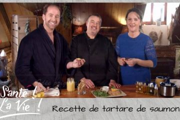 Santé La vie - Tartare de Saumon