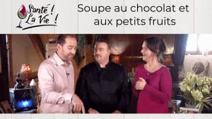 Inspirata Nature - Soupe au chocolat et petits fruits