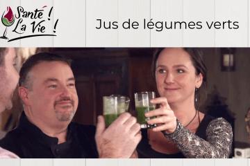 Santé La vie - Jus de légumes verts