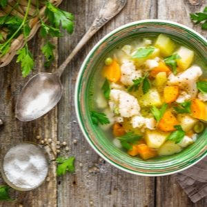 Santé la vie - Krystine St-Laurent - Soupe aux légumes d'automne