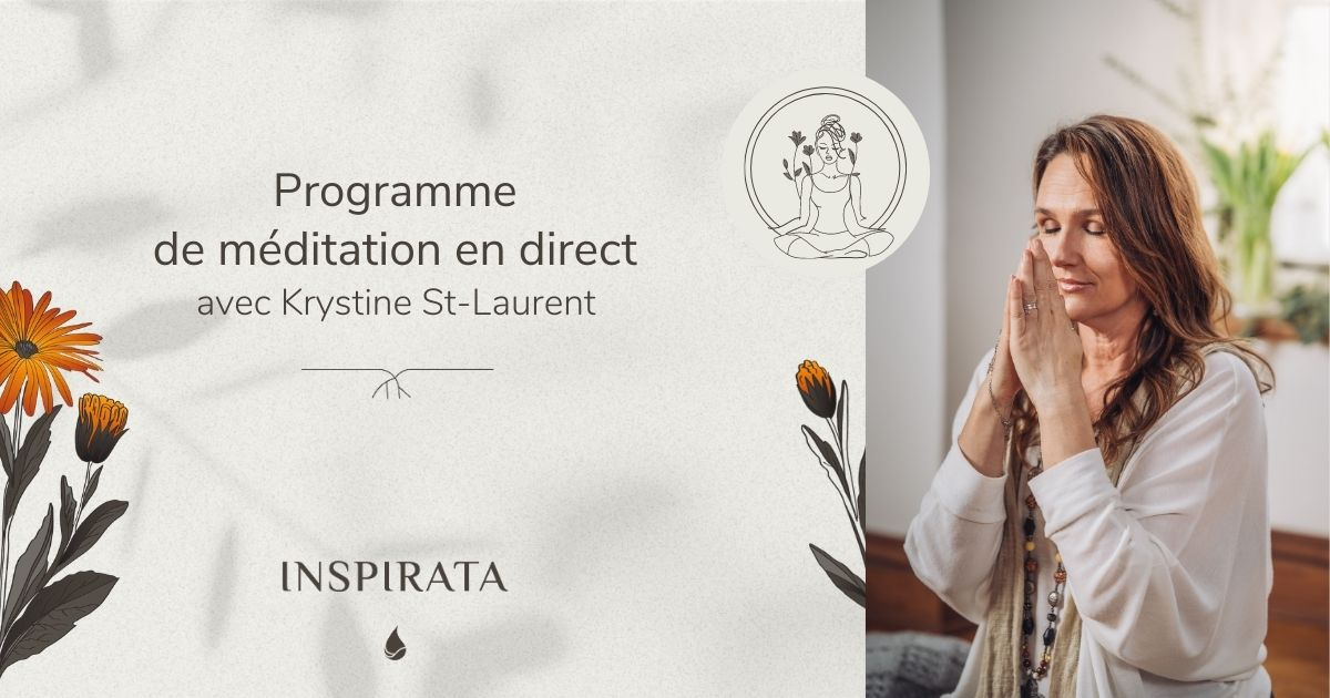 programme méditation krystine st laurent